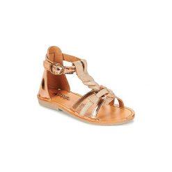 Sandały Dziecko  Citrouille et Compagnie  GITANOLO. Brązowe sandały dziewczęce marki Citrouille et Compagnie. Za 209,00 zł.