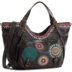 Torebka DESIGUAL - 18WAXP37 2000. Czarne torebki klasyczne damskie Desigual, ze skóry ekologicznej. Za 349,90 zł.