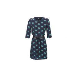 Sukienki krótkie One Step  NADY. Niebieskie sukienki mini marki One Step, z krótkim rękawem. Za 689,00 zł.