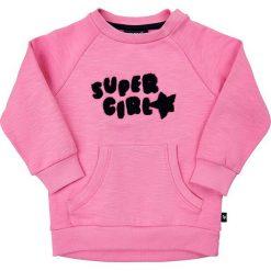 Bluza w kolorze jasnoróżowym. Czerwone bluzy niemowlęce MeToo, z aplikacjami, z bawełny. W wyprzedaży za 62,95 zł.