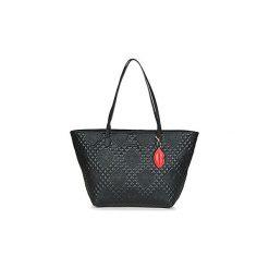 Torby shopper Desigual  BOLS CLAUDIA CAPRI ZIPPER. Szare shopper bag damskie marki Desigual, l, z tkaniny, casualowe, z długim rękawem. Za 314,10 zł.