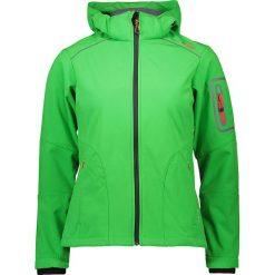 Kurtka softshellowa w kolorze zielonym. Zielone kurtki damskie marki CMP Women, m, z materiału. W wyprzedaży za 218,95 zł.