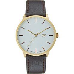 CHPO KHORSHID  Zegarek goldcoloured/dark brown. Brązowe, analogowe zegarki damskie CHPO. Za 249,00 zł.