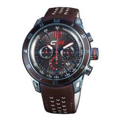 """Zegarki męskie: Zegarek """"E2.5"""" w kolorze brązowo-niebieskim"""