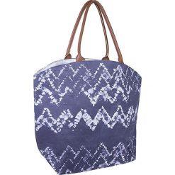 Torebki klasyczne damskie: Torba plażowa w kolorze niebieskim - 56 x 43 x 20 cm