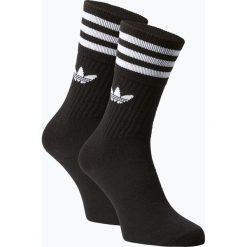 Adidas Originals - Skarpety damskie pakowane po 3 szt., czarny. Czarne skarpetki damskie adidas Originals, w paski. Za 59,95 zł.