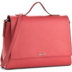 Torebka CALVIN KLEIN - Frame Top Handle Sat K60K603990 618. Czarne torebki klasyczne damskie marki Calvin Klein Black Label, z materiału. W wyprzedaży za 429,00 zł.