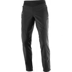 Bryczesy damskie: Salomon Spodnie Do Narciarstwa Biegowego Lightning Warm Sshell Pant W Black M