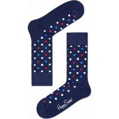 Skarpety Happy Socks (DOT01-6001). Niebieskie skarpetki męskie marki Happy Socks, z bawełny. Za 29,99 zł.