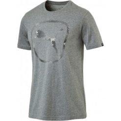Koszulki do fitnessu męskie: Puma Koszulka Sportowa Brand Pure Logo Tee Cotton Gray Heather S