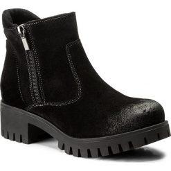 Botki SERGIO BARDI - Corato FW127259817LK 801. Czarne buty zimowe damskie Sergio Bardi, ze skóry. W wyprzedaży za 219,00 zł.