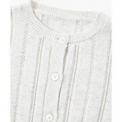 Mango Kids - Sweter dziecięcy Cake2 80-104 cm. Różowe swetry dziewczęce marki Mayoral, z bawełny, z okrągłym kołnierzem. W wyprzedaży za 39,90 zł.
