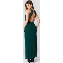Długie sukienki: Samsoe & Samsoe Długa sukienka Willow - Green