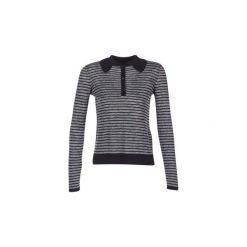 Swetry Armani jeans  LAMAC. Szare swetry klasyczne damskie marki BE, s, z nadrukiem, eleganckie, z klasycznym kołnierzykiem. Za 657,30 zł.