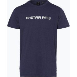 G-Star - T-shirt męski – Loaq, niebieski. Niebieskie t-shirty męskie z nadrukiem G-Star, m. Za 89,95 zł.