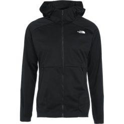 The North Face ATERPEA II Kurtka Softshell black. Szare kurtki sportowe męskie marki The North Face, l, z materiału, z kapturem. W wyprzedaży za 421,85 zł.