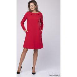 Sukienka wizytowa Bella Look 724. Czerwone sukienki hiszpanki Pakamera, l, wizytowe, midi. Za 269,00 zł.