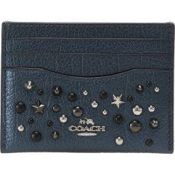 Portfele damskie: Coach Portfel metallic blue