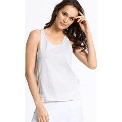 Nike Sportswear - Top Bonded. Szare topy damskie Nike Sportswear, l, z bawełny, z okrągłym kołnierzem. W wyprzedaży za 49,90 zł.