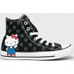 Converse - Trampki Hello Kitty. Szare trampki i tenisówki damskie marki Converse, z motywem z bajki, z gumy. Za 319,90 zł.