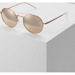 Emporio Armani Okulary przeciwsłoneczne brown. Brązowe okulary przeciwsłoneczne damskie aviatory Emporio Armani. Za 779,00 zł.