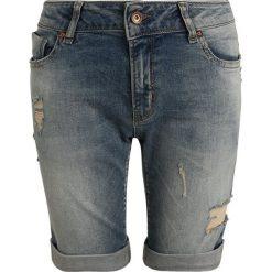 Cars Jeans KIDS NASCK  Szorty jeansowe stonewash used. Niebieskie spodenki chłopięce Cars Jeans, z bawełny. Za 169,00 zł.