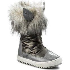 Kozaki dziewczęce: Śniegowce BARTEK – 24385-82GU Szary