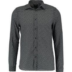 Koszule męskie na spinki: Burton Menswear London PAISLEY VOILE Koszula black