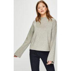Vero Moda - Sweter Tasty. Szare swetry oversize damskie Vero Moda, l, z dzianiny. W wyprzedaży za 129,90 zł.