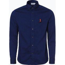 Calvin Klein - Koszula męska, niebieski. Niebieskie koszule męskie na spinki Calvin Klein, l, z aplikacjami. Za 349,95 zł.