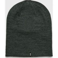 Barts - Czapka. Czarne czapki zimowe męskie marki Barts, na zimę, z dzianiny. W wyprzedaży za 69,90 zł.