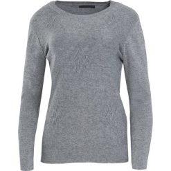 Szary Sweter Live My Own Life. Szare swetry klasyczne damskie Born2be, xl, z okrągłym kołnierzem. Za 49,99 zł.