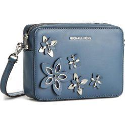 Torebka MICHAEL MICHAEL KORS - Flowers 32H6SFAM2L  Denim. Żółte listonoszki damskie marki MICHAEL Michael Kors, ze skóry. W wyprzedaży za 759,00 zł.