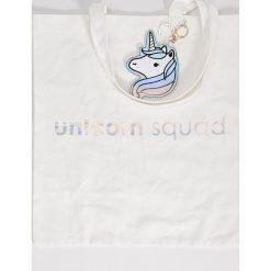 Torebki i plecaki damskie: Płócienna torba – Biały