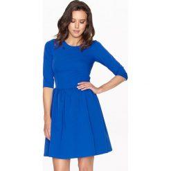 Sukienki hiszpanki: Sukienka w kolorze szafirowym