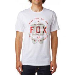 T-shirty męskie: FOX T-Shirt Męski Claw Ss Tee S Biały