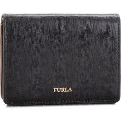 Mały Portfel Damski FURLA - Babylon 962175 P PZ28 B30 Onyx. Czarne portfele damskie marki Furla, ze skóry. Za 460,00 zł.