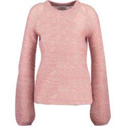 Swetry klasyczne damskie: Second Female FANNY  Sweter blush