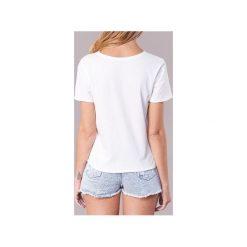 T-shirty z krótkim rękawem Roxy  POP SURF TEE. Białe t-shirty damskie marki Roxy, l, z nadrukiem, z materiału. Za 103,20 zł.