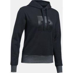 Bluzy sportowe damskie: Under Armour Bluza damska Threadborne Fleece BL Hoodie czarna r.S (1298592-001)
