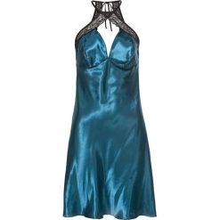 Koszule nocne i halki: Koszulka nocna bonprix niebieskozielono-czarny
