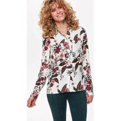 KOSZULA DŁUGI RĘKAW DAMSKA WE WZORY. Szare koszule damskie marki Top Secret, na jesień, z długim rękawem. Za 99,99 zł.