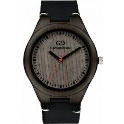 Zegarek Giacomo Design Drewniany męski GD08013. Czarne zegarki męskie Giacomo Design. Za 359,00 zł.