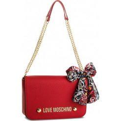 Torebka LOVE MOSCHINO - JC4121PP16LV0500  Rosso. Czerwone torebki klasyczne damskie marki Love Moschino, ze skóry ekologicznej. W wyprzedaży za 619,00 zł.
