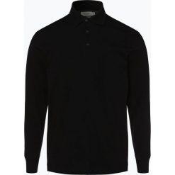 Mc Earl - Męska koszulka polo, czarny. Czarne koszulki polo Mc Earl, m, z bawełny, z długim rękawem. Za 119,95 zł.