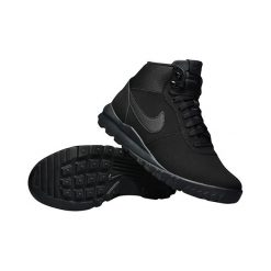 Buty Nike Hoodland Suede (654888-090). Czarne buty trekkingowe męskie Nike, na jesień, z materiału, outdoorowe. Za 329,99 zł.