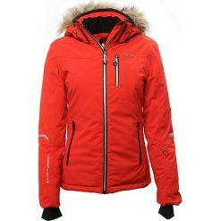 Odzież damska: Kurtka narciarska w kolorze czerwonym