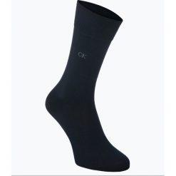 Calvin Klein - Skarpety męskie pakowane po 2 szt., niebieski. Niebieskie skarpetki męskie Calvin Klein. Za 49,95 zł.