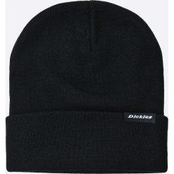 Dickies - Czapka. Czarne czapki zimowe męskie marki Dickies, na zimę, z dzianiny. Za 69,90 zł.