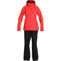 Kurtki damskie softshell: 8848 Altitude BROOKE RAINSET SET Kurtka hardshell poppy